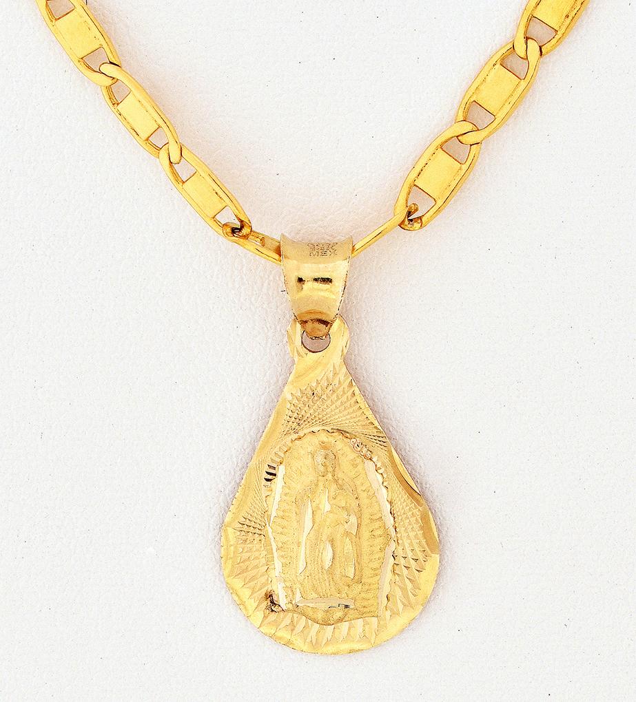 Cruces dijes y medallas en oro de 14 kilates