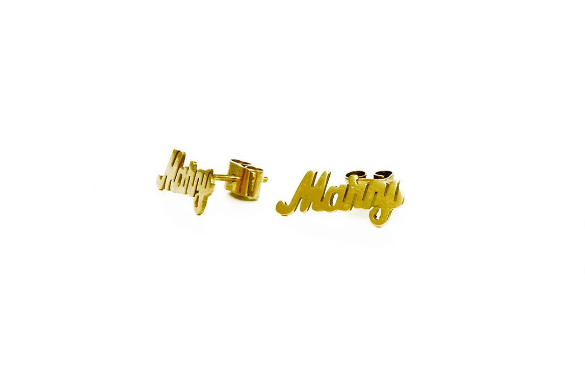 Joyería personalizada en oro de 14 kilates