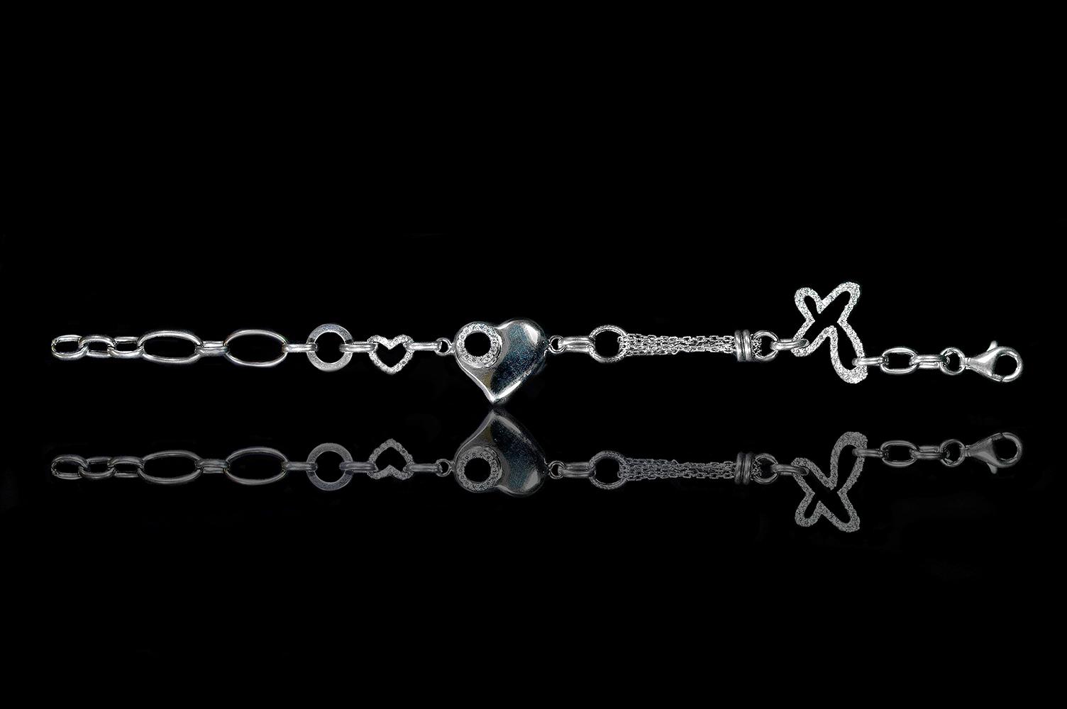 Plata florentina collares y pulseras ley 0.925